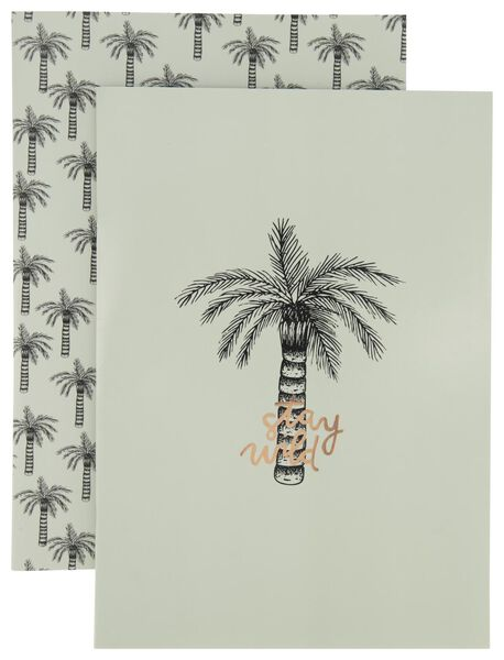 schriften - A4 - geruit 10 mm - 2 stuks - 14502214 - HEMA