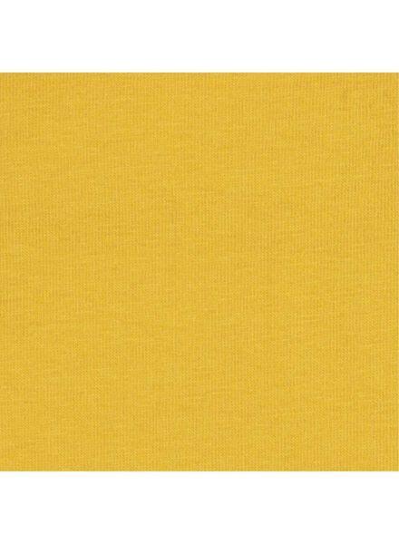 romper biologisch katoen stretch geel 62/68 - 33396712 - HEMA