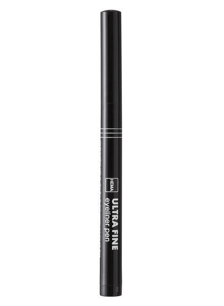 ultra fine eyeliner pen - 11214340 - HEMA