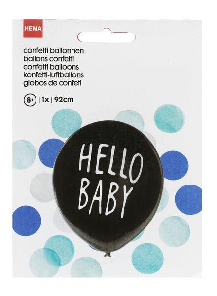 gender onthullingsballon jongen - 14230007 - HEMA