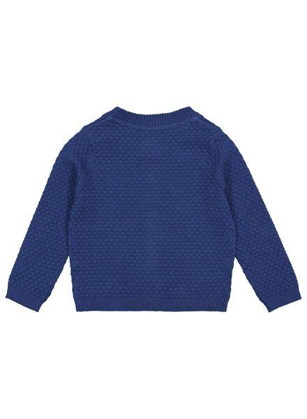babyvest donkerblauw 68 - 33121832 - HEMA
