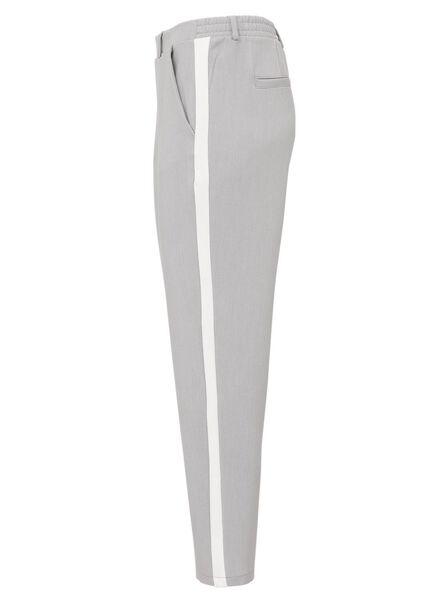 damesbroek grijsmelange grijsmelange - 1000011557 - HEMA