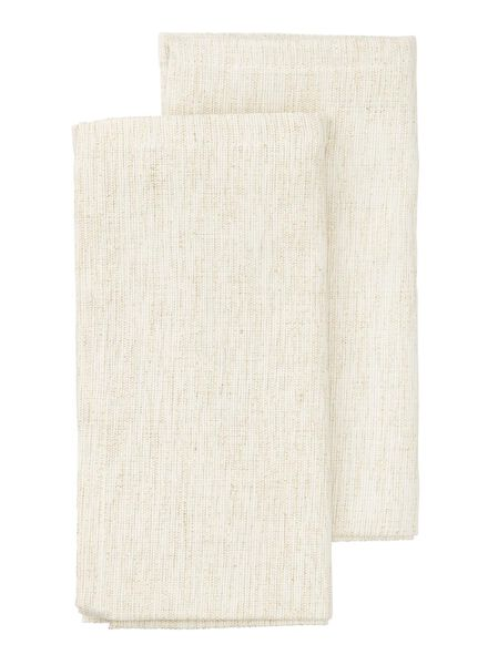 2-pak chambray servetten 47 x 47 cm - 5300013 - HEMA