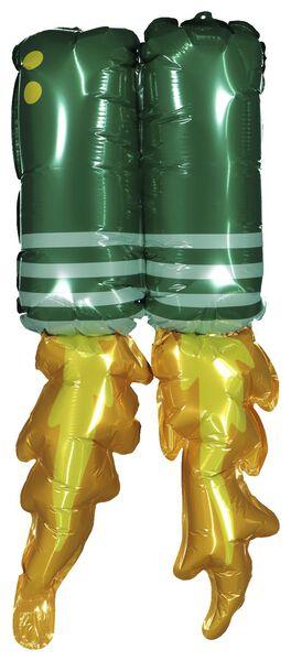 folieballon 60 cm - verkleedset raket - 14210155 - HEMA