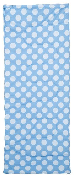 slaapzak 200x80 katoen - blauw - 41851201 - HEMA