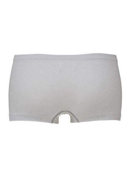 damesboxer - naadloos grijsmelange grijsmelange - 1000006397 - HEMA
