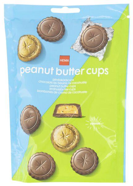 chocolade pindakaascups - 10380038 - HEMA