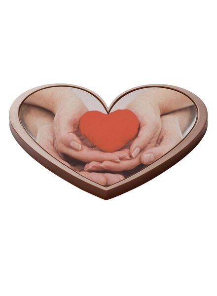 fotochocolade hart - 6380001 - HEMA