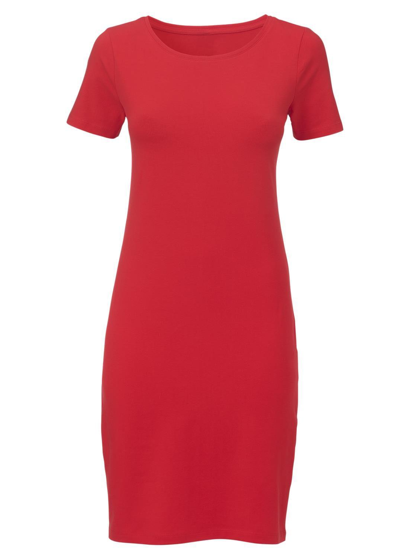 basic rood jurkje
