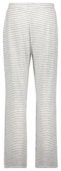 dames pyjamabroek viscose streep grijsmelange grijsmelange - 1000025114 - HEMA