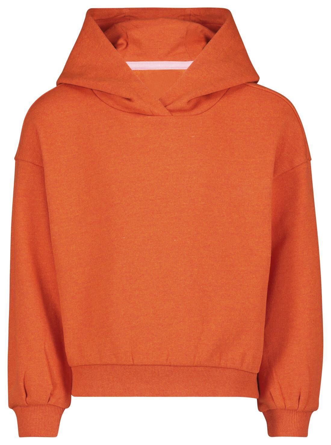 HEMA Kinder Capuchonsweater - Recycled Katoen Rood (rood)