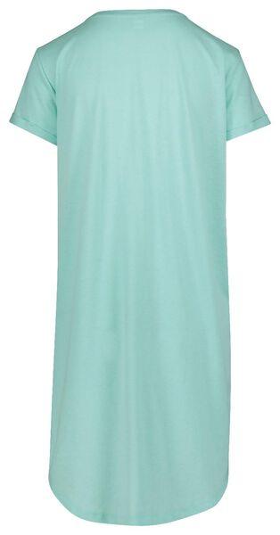 dames nachthemd lichtgroen lichtgroen - 1000019779 - HEMA