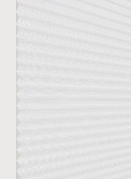 plisségordijn naturel lichtdoorlatend 20 mm - 7430006 - HEMA
