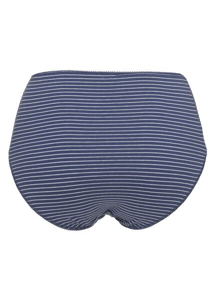 3-pak damesslips blauw blauw - 1000010738 - HEMA