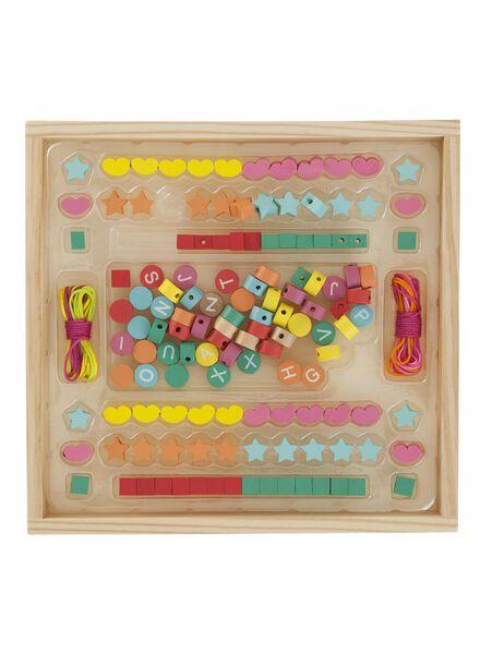 houten alfabet kralen - 15110247 - HEMA