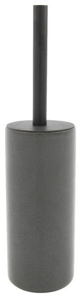 toiletborstelhouder - Ø9.5x22cm - reactief keramiek - antraciet - 80310010 - HEMA