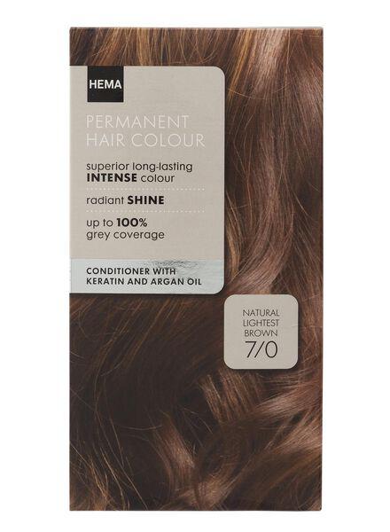 haarkleuring licht bruin 7/0 - 11050006 - HEMA