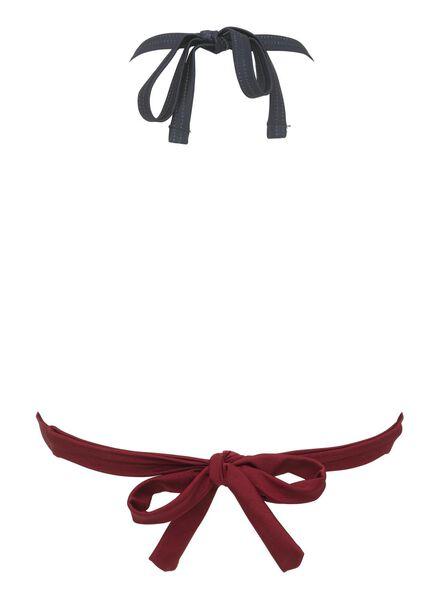 dames driehoek bikinitop padded rood rood - 1000012162 - HEMA
