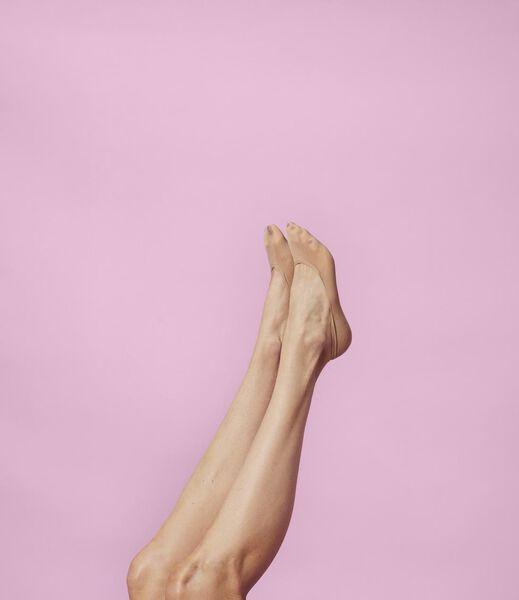 damesfooties naadloos - 5 paar naturel 35/38 - 4049821 - HEMA