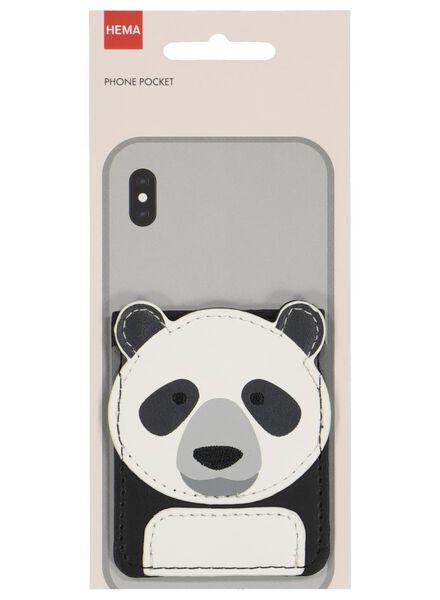 pashouder voor telefoon 8.5x6.5 panda - 39677720 - HEMA