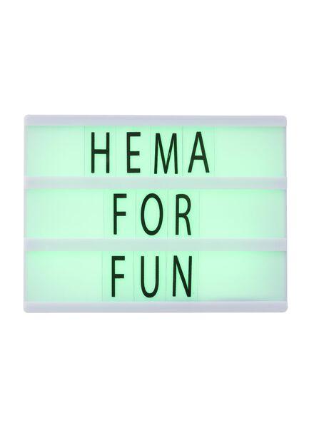 lichtbox - 60160144 - HEMA