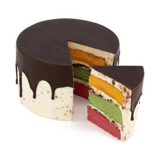 dripcake drie kleuren 8 p. - 6330053 - HEMA