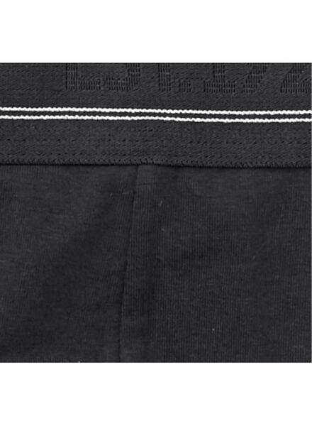 2-pak herenboxers lang zwart zwart - 1000009289 - HEMA