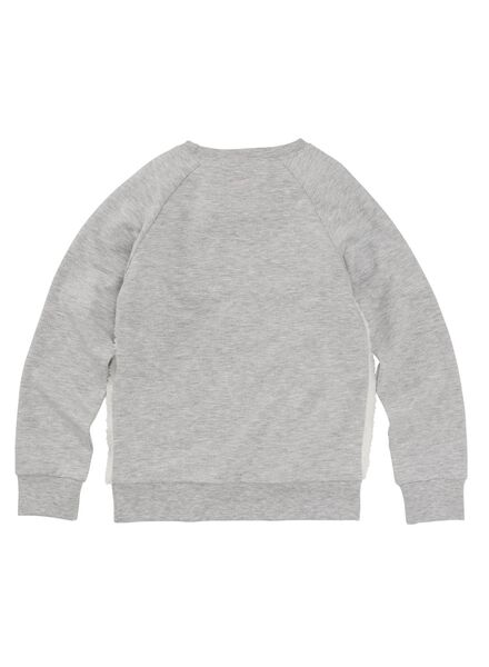 kinderpyjama grijsmelange grijsmelange - 1000009436 - HEMA