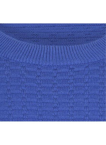 herentrui donkerblauw donkerblauw - 1000017143 - HEMA
