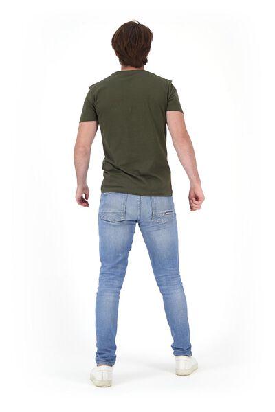 heren t-shirt lichtgroen M - 34297512 - HEMA