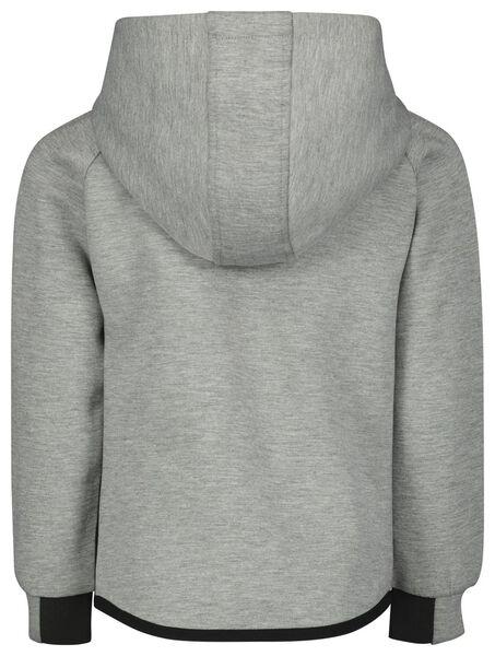 kinder sweatvest grijsmelange grijsmelange - 1000022294 - HEMA