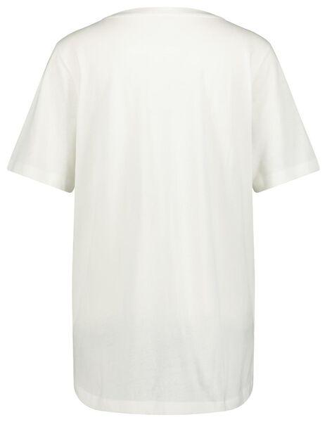 dames t-shirt lalala wi wi - 1000023725 - HEMA