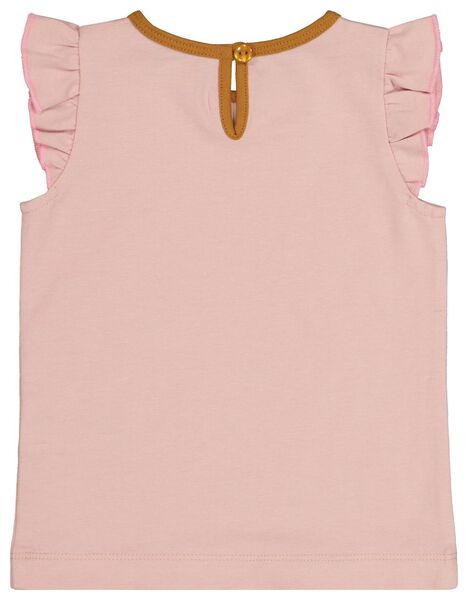 baby t-shirt lichtroze - 1000020988 - HEMA
