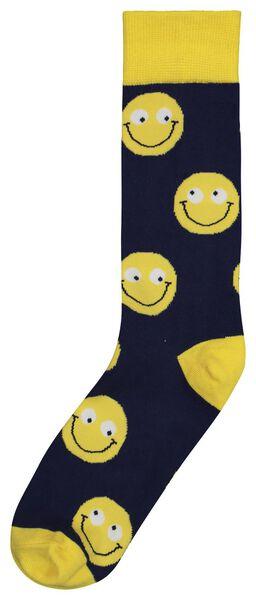 sokken maat 42-46 smile - 61122834 - HEMA