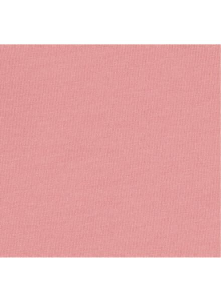 romper biologisch katoen stretch roze roze - 1000015083 - HEMA