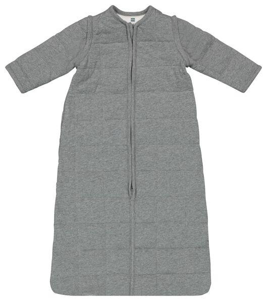 babyslaapzak - padded - afritsmouw - grijs - 1000019999 - HEMA