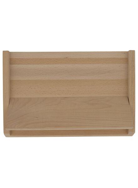 magnetisch messenblok 22x33x12.5 hout - 80810310 - HEMA