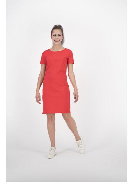 damesjurk rood rood - 1000012817 - HEMA