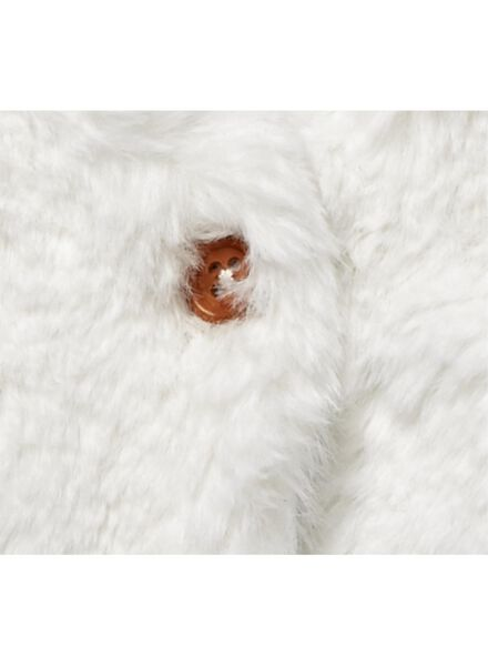 baby gilet gebroken wit gebroken wit - 1000010196 - HEMA