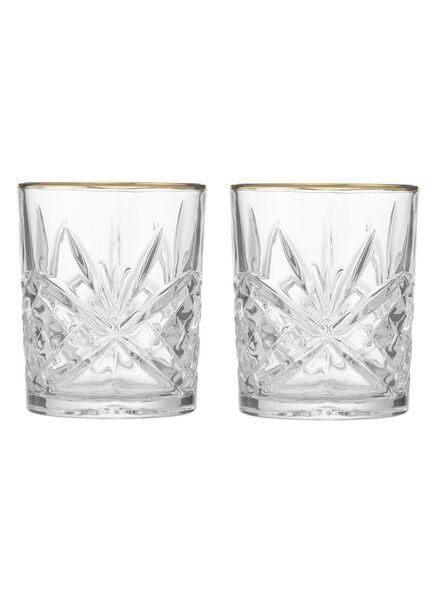2-pak whiskyglazen - 60040004 - HEMA