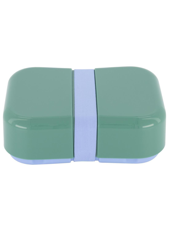 HEMA Lunchbox Met Elastiek Lichtblauw (groen)