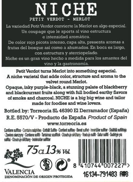 niche petit verdot merlot - 0,75 L - 17360733 - HEMA