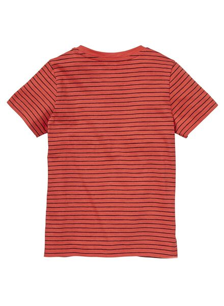 kinder t-shirt rood rood - 1000012718 - HEMA