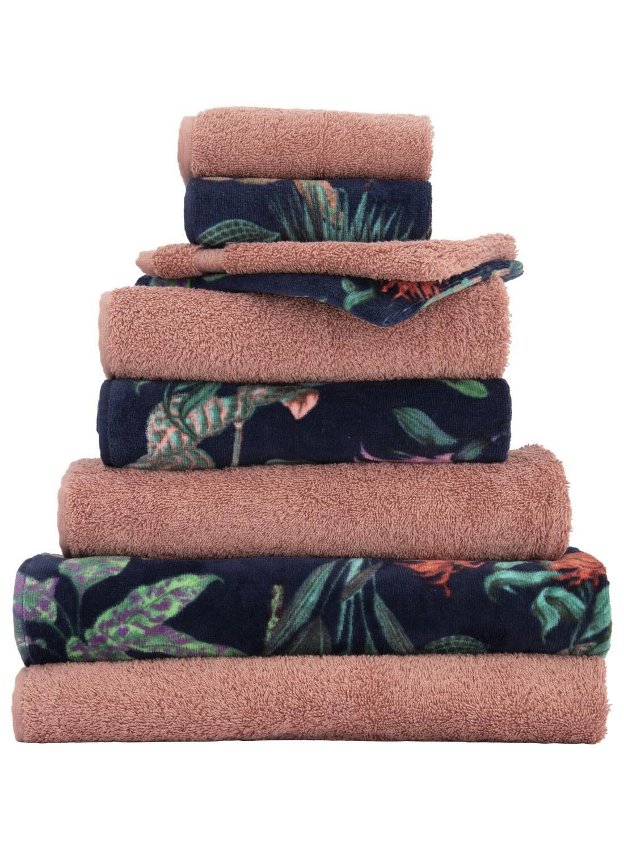 HEMA Handdoek – 60 X 110 Cm – Zware Kwaliteit – Roze Uni (roze)