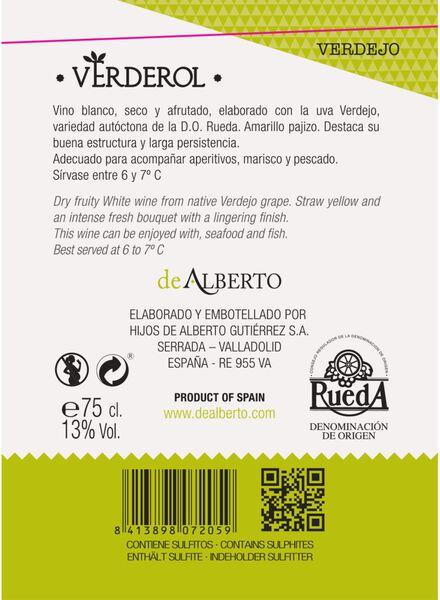 vina verderol verdejo - 0,75 L - 17370561 - HEMA