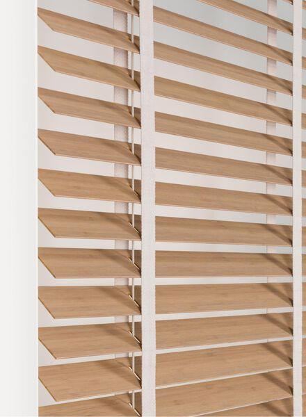 jaloezie hout bamboe 50 mm antraciet - 1000016183 - HEMA
