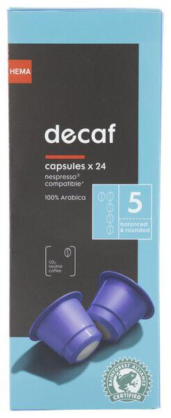 Koffiecups decaf - 24 stuks