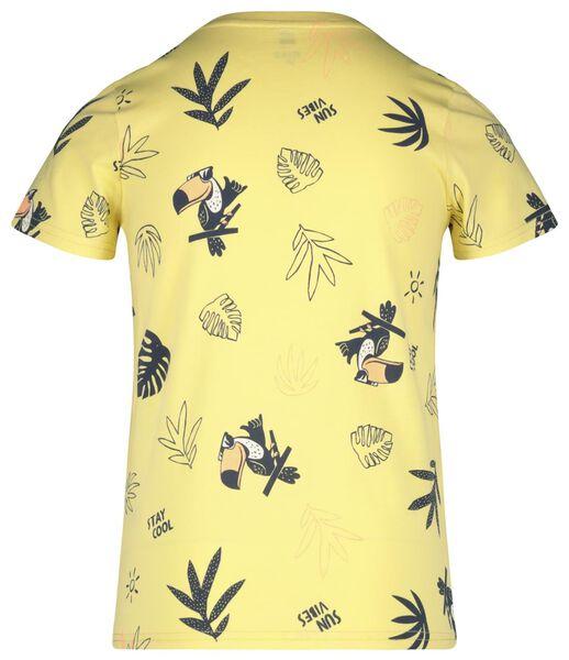 kinder t-shirt geel geel - 1000018339 - HEMA