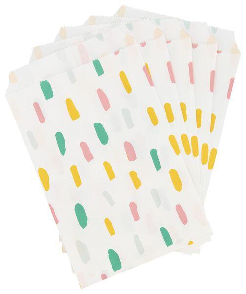 papieren uitdeelzakjes - 5 stuks - 14210117 - HEMA