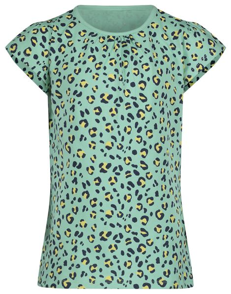 kinder t-shirt groen groen - 1000019072 - HEMA